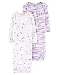 Carter's 女宝宝睡袍 2 件装,3个月,紫色