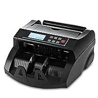 钱柜 DOMENS UV/MG 伪造钞票检测 现金计数机 美元货币钞票计数器 黑色