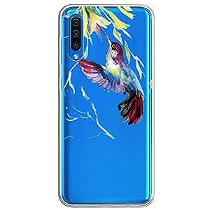 手机壳兼容三星 Galaxy A30 手机壳,保护性手机壳,硅胶防水水晶柔软盖乐世 A50 TPU 防震保护套,薄款适用于 Galaxy A70 Samsung Galaxy A30 6