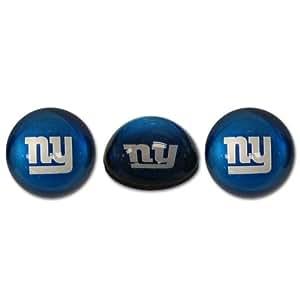 NFL 纽约巨人水晶磁铁套装,3 件套