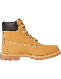 Timberland 添柏岚 女式明星同款户外防水经典牛皮登山鞋大黄靴 10061