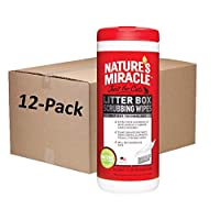 Nature's Miracle 猫砂纸巾 不适用 30-Count, Pack of 12
