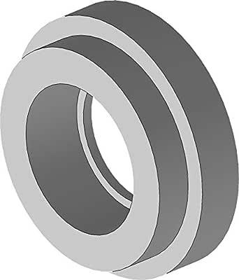 Tompkins Industries 6861-24-24 Brze to Code 61 分离法兰,钢,3.81 x 3.81 cm