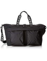 HUGO 男士 Urban_holdall 手提包,黑色(黑色)22x32x48厘米