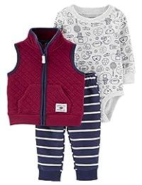 Carter's 男婴 3 件套微型背心套装(婴儿)