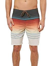 O'Neill 男式及膝游泳沙滩裤,19 英寸侧缝线