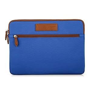 "caison 笔记本电脑套保护套防护袋收纳袋 蓝色 15.6"" Laptops"