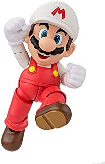 "Bandai Tamashii Nations S.H. Figuarts Fire Mario""超级马里奥""可动人偶"