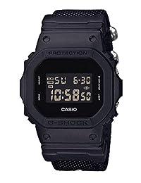 Casio 卡西欧 男式 G - SHOCK 数码手表带布带 DW-5600BBN-1ER