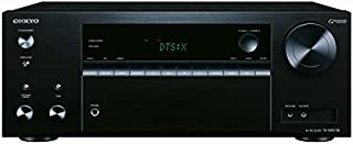 Onkyo 7.2 频道 AV 接收器 TX-NR575E-B 135 W / 通道 多房间 家庭影院 Dolby/DTS:X WLAN 蓝牙 流媒体 音乐应用(Spotify Tidal)收音机 USB/HDMI/音频 黑色 1500440