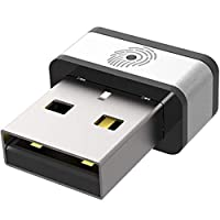 PQI USB指纹识别器 支持Windows Hello 功能 保修1年了 FIDO认证 My Lockey 6F01-0000R1002