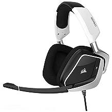 CORSAIR void PRO RGB 无线游戏耳机–杜比7.1环绕立体声耳机适用于 PC 白色 Headset