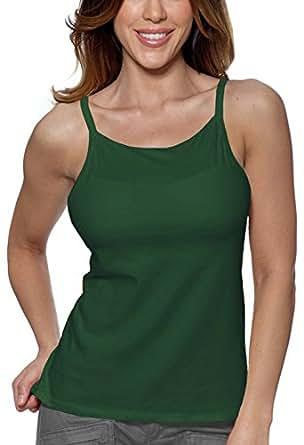 Alessandra B 钢圈文胸高领吊带衫 橄榄色 38DD