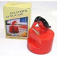 Rdj 红色牙签自动鸟类分装器口气礼品卫生