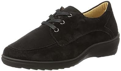 Ganter女士敏感Helga-H Derbys, 黑色(黑色), 35 EU(3 UK)