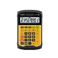 Casio WM-320MT 计算器,23.00cm 长 x 15.24cm 宽 x 1.42cm 高 黄色/黑色