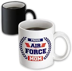 3dRose 马克杯 黑色/白色 11oz mug_214611_3