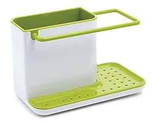 Joseph Joseph多功能厨房用具整理槽白色/绿色85021(亚马逊自营商品,由供应商配送)