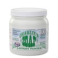 Charlie's Soap 查利洗涤剂 环保洗衣粉(100次)1.2kg(进口 婴幼儿适用)(新老包装,随机发货)