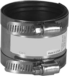 Aviditi 94143-25AVI Shielded Coupling, PVC/Ci by PVC/Ci, 3-Inch, 25-Pack