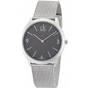 Calvin Klein 卡尔文克莱恩 美国品牌 瑞士制造 CK 永恒系列 石英手表 男士腕表 K3M51154