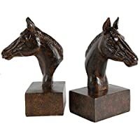 "A&B Home Horse Bookends, Set of 2, 5"" x 4"" x 8"""