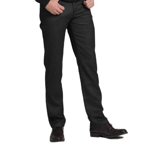 VICIVE Veseyの秋と冬のファッションビジネスカジュアルパンツスリムストレートの男性グレーVT11230001クリアランス
