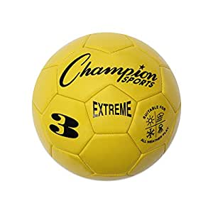 Champion Sports Extreme Series Soccer Ball 黄 3