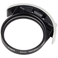 Canon 佳能52mm插入式螺纹滤镜架52(W II) 含52mm保护滤镜