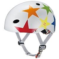 OGK KABUTO 儿童头盔 PR-KIDS 星星 尺寸:头围 50厘米~54厘米不到 スターホワイト (頭囲 50cm~54cm未満)