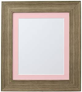 FRAMES BY POST Hygge Bear Creek 照片海报框 Bear Creek Brown 10 x 10 Image Size 8 x 8 Inches FBPHYGGEBEARCREEKPINKMT101088