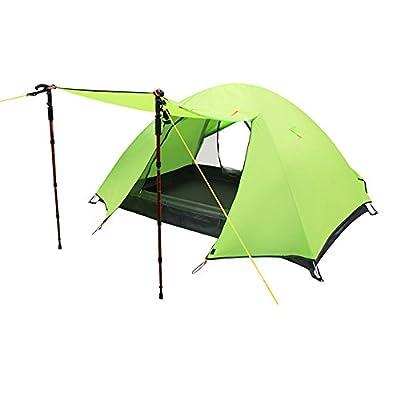 乐昂 LA-TXZ-ZP-GRREN 探险者系列 双层手搭帐篷