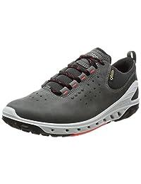 ECCO 女式 biom Venture GORE-TEX 系带运动室内鞋