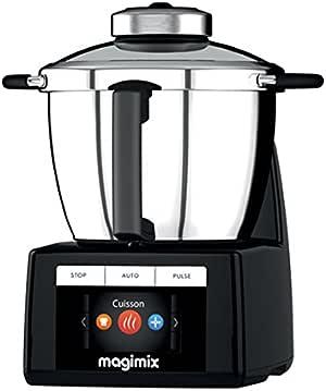 Magimix 18903 食品处理器 – 食品处理器(黑色,不锈钢,不锈钢)