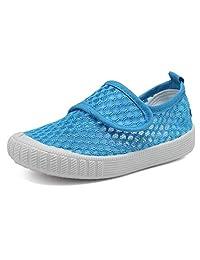 CIOR 儿童水鞋透气一脚蹬运动鞋 适用于跑步泳池海滩幼儿