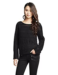 Esprit 埃斯普利特 女士 宽松镂空毛衣针织衫 KA1312