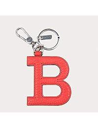 Bally/巴利6204248时尚字母B皮质钥匙扣女