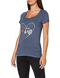 MAMALICIOUS 女士 Mlrene Nell S/S 针织上衣 Nf A T 恤