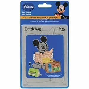 Provo Craft Cuttlebug Disney A2 Combo Die: Bon Voyage