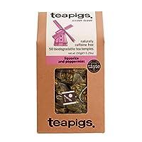 teapigs 甘草和薄荷草本茶 用全叶制成(1 件, 50 个茶包)