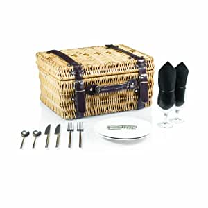 """Picnic Time 208-40 Champion Deluxe Picnic Basket with Service for Two Not Applicable 16"""" X 12"""" X 8"""""""