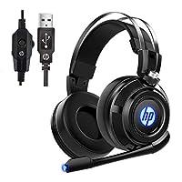 HP 有線立體聲游戲耳機帶麥克風200  With 7.1 Surround Sound