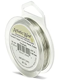 Artistic Wire 26-Gauge Tinned Copper Wire, 30-Yards