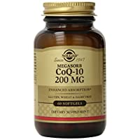 Solgar 辅酶Q-10膳食补充胶囊200毫克60粒