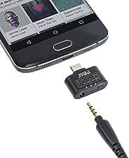 96 KHz 24 位 DAC C C 型音頻適配器到 3.5 毫米耳機放大器 3 級 EQ 支持