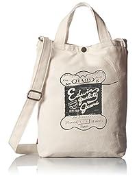 [爱德温] 托特包 商标印刷 帆布 A4收纳 22219027