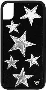 Wildflower 限量版 iPhone XR 手机壳WIL_BSST301XR Black Velvet Stars