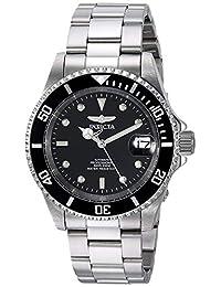Invicta 8926OB Pro Diver 中性 手表 不锈钢自动手表 黑色表盘,黑色,One Size
