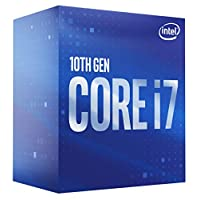 Intel 英特爾 *七代Intel Core i7-10700 臺式機處理器 8核高達4.8 GHz LGA 1200 (Intel 400系列芯片組) 65W