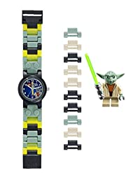 Lego Star Wars Yoda Children's Quartz Watch with Multicolour Dial Analogue Display and Multicolour Plastic Bracelet 8020295